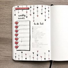 i thought i wasn't going to do a spread this week since i was travelling for most of it, but today i just needed a nice to do list to clear my mind ☑️ don't be afraid to switch things up in your #bulletjournal to suit your life in the moment!