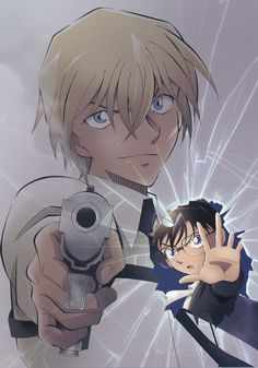 Detective Conan Gin, Detective Conan Shinichi, True Detective, Conan Movie, Detektif Conan, Bourbon, Super Manga, Manga English, Detective Conan Wallpapers