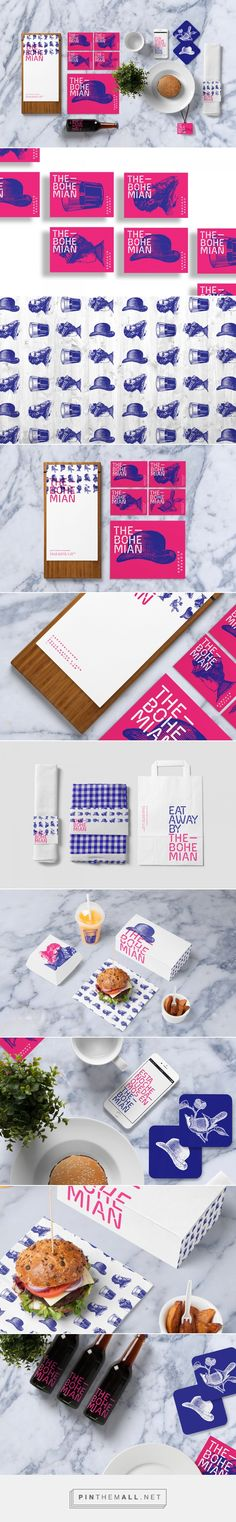 THE BOHEMIAN Coffee Lounge Branding by Quim Marin on Behance | Fivestar Branding – Design and Branding Agency & Inspiration Gallery