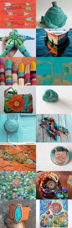 Bright and Happy Summer Gifts by Alta on Etsy--Pinned+with+TreasuryPin.com