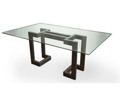 Glass dining table SENDAI | Dining table - Gonzalo De Salas