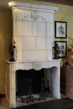 15th century fire place.