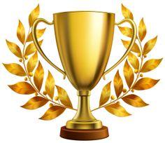 olympic gold trophy cup award for sport winner pinterest trophy rh pinterest com Football Trophy Clip Art Person Climbing Up Clip Art