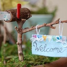 Make your own whimsical fairy garden with these creative DIY fairy garden ideas for inspiration. There are easy fairy garden ideas for containers, outdoors, and indoors. Fairy Crafts, Garden Crafts, Garden Ideas, Garden Projects, Garden Tools, Mini Fairy Garden, Fairy Garden Houses, Fairies Garden, Fairy Garden Furniture