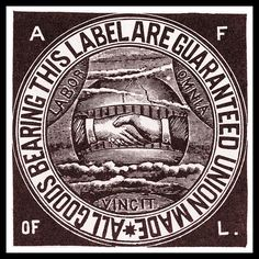 American Federation of Labor union label poster in the early 1900s. While the AFL was deemed too conservative and too much a part of the establishment by many workers and labor activists, it still played an ongoing role as a promoter and protector of the workers' interests. Another important labor union was the ILGWU - International Ladies Garment Workers, which led the reforms following the tragic Triangle fire.