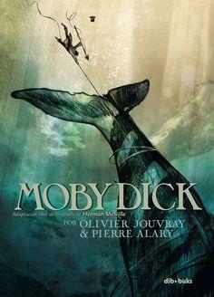 Dibukks publica en septiembre una nueva adaptación al cómic de «Moby Dick»