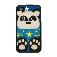 cute vector bear phone cover