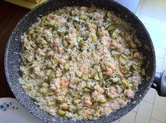 Il mio risotto di gamberi e zucchine ha notevole successo.. visita il blog di giallo zafferano ricette e tradizioni.. non te ne pentirai