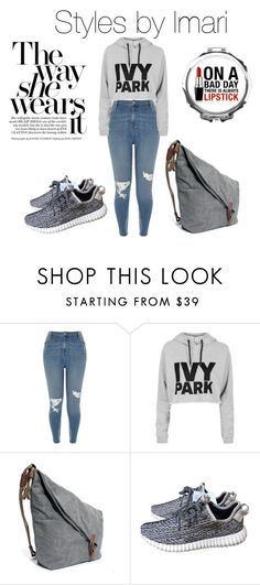 """Untitled #157 of 2016"" by stylesbyimari ❤ liked on Polyvore featuring River Island, Topshop and adidas"