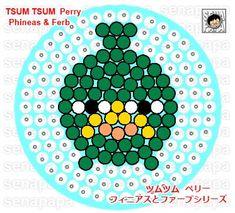 tsum tsum perler bead template jack