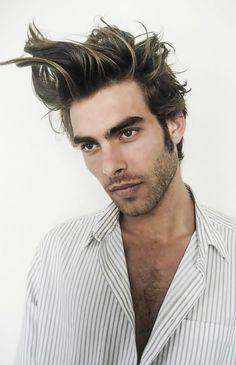 Jon Kortajarena Hair, Hairstyles, Haircuts - Pictures Tutorial