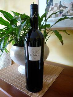 Sot Lefriec 2003 (tinto con crianza) de Alemany i Corrió. DO Penedès. Uva: cabernet sauvignon, samsó (cariñena) y merlot. Lo vamos a tomar con una tabla de quesos curados.