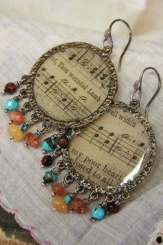 Bojangles+handmade+boho+hoop+earrings+by+mocknet+on+Etsy,+$95.00