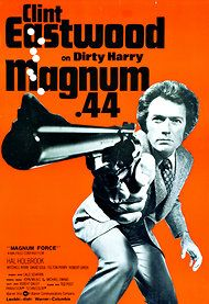 A Finnish Poster For Magnum Force 1973 Clint Eastwood Is Dirty