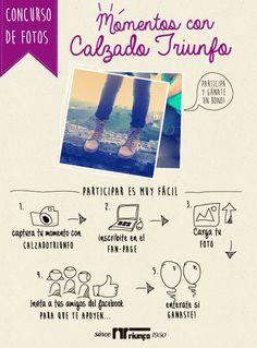 Diseño de piezas gráficas y publicitarias #Calzadotriunfo