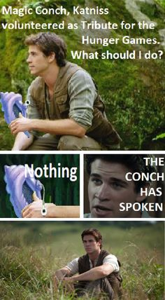 Hunger Games - Gale and the magic conch