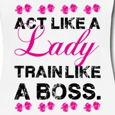 Design ~ Act like a lady | Womens Racerback