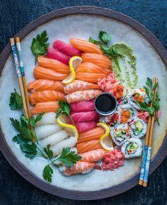 Sushi piatto darte