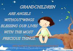 GRANDCHILDREN ARE ANGELS