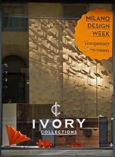Milano Design Week 2014 - Show-Room Ivory Collections by Gian Paolo Venier, via Behance
