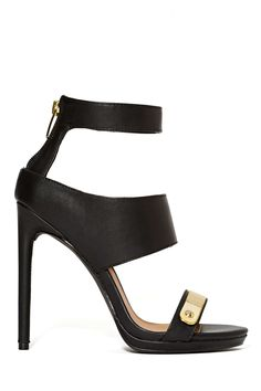 Shoe Cult Metal Head Heel | Shop Shoe Cult at Nasty Gal