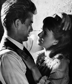 James Dean and Julie Harris in East of Eden