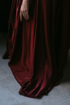 Red is the color of blood. Of life. Of passion. It is the color that the Grand Matriarch and her disciples cloak themselves in, and it is a color that marks the most desirable of the order. -- story ideas, nymphali