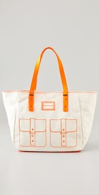 $115.29 on sale! marc by marc jacobs werdie linen tote. not that i need more bags.