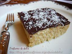 Semifreddo al cocco e cioccolato