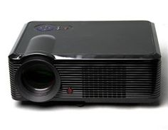 "5"" Active Matrix TFT LCD LED Projector with 1080P HDMI Output and EU Plug (Black). This projector adopts the active matric monolithic 5"" LCD and LED projection technology to offer a high definition video output and photo projection."