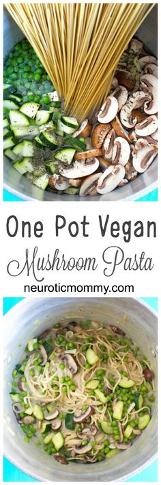 One Pot Vegan Mushro