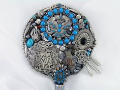 Recycled southwestern dreams hand mirror on Etsy.com