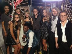 #TeamAdam ready for their #Knockouts #VoiceUnlimited