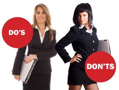 A quick and painless guide to dressing appropriately for a job interview Do: If wearing a skirt... Wear a skirt that comes to your knees Sit down (before the interview) to make sure the skirt doesn...