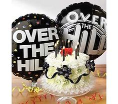 Over-the-Hill cake in WichitaKS, The Flower Factory, Inc.