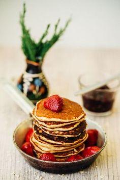 Zdravé citrónovo-tvarohové lievance, recept bez kysnutia Pancakes, Sweet Tooth, Food And Drink, Keto, Breakfast, Recipes, Fitness, Healthy Recipes, Health