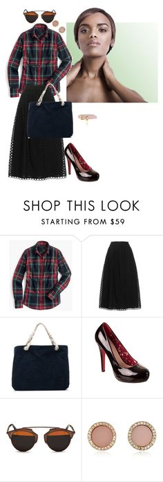 """""""202-3 Day 3"""" by afashionpage on Polyvore featuring J.Crew, Carven, Frame Denim, Christian Dior, Michael Kors and Miu Miu"""