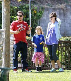 Mark Wahlberg and the family enjoying the sunshine!