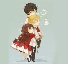 Gil, Oz, Alice - Pandora Hearts