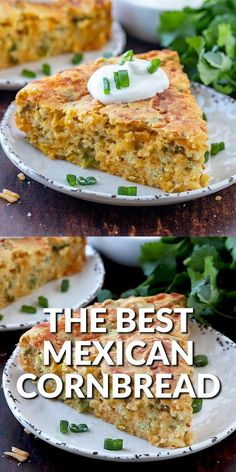 Easy Mexican Cornbread, Mexican Cornbread Casserole, Cream Corn Cornbread Recipe, Mexican Food Recipes, Beef Recipes, Cooking Recipes, Cornmeal Flour, Cornmeal Recipes, Amazing Food Videos