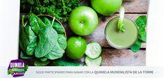 Disfruta un delicioso y nutritivo licuado de manzana, zanahoria y apio, que te ayudará a mejorar tu sistema inmunológico y desintoxicar tu cuerpo. Ingredientes de licuado para desintoxicar el organismo  3 Zanahorias 2 Manzanas 2 Ramas de Apio  Preparación de licuado para desintoxicar el organismo  Lava y desinfecta perfectamente los ingredientes. Recuerda que esto es sumamente importante para tu salud. Corta en trozos la fruta y la verdura. Licúa todo Sirve en un vaso y tomálo…
