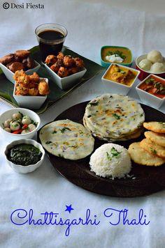 Desi Fiesta : Chattisgarhi Thali | Chattisgarh Cuisine