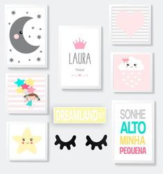 Paint Colors For Home, House Colors, I Love You Song, Kids Poster, Baby Furniture, Baby Room Decor, Diy Crafts Videos, Girl Nursery, Cute Wallpapers