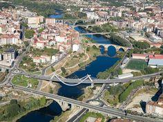 España a vista de pájaro,rio miño Ourense Galicia - Spain: A bird's eye view - SkyscraperCity