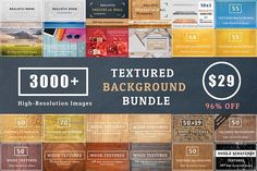 3000+ Textures Background Bundle  by FWStudio on @creativemarket