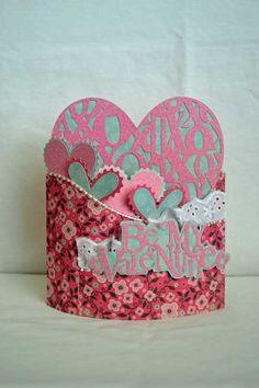 Be My Valentine Bendy Card *Samantha Walker* - Scrapbook.com