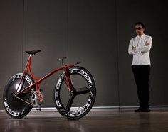 Shinichi Konno Designs Bicycles with Flow