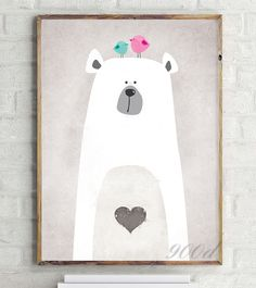 Find More Painting & Calligraphy Information about Cartoon Cute Polar Bear Canvas Art Print Painting Poster,  Wall Picture for Home Decoration,  Wall Decor FA400 4,High Quality picture of a basketball ball,China pictures of straw flowers Suppliers, Cheap pictures of hair curlers from 900D on Aliexpress.com