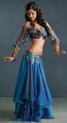 Bailarina árabe