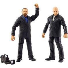 WWE 2-Pack Jamie Noble and Joey Mercury Figures, Multicolor
